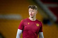 12th February 2020; McDairmid Park, Perth, Perth and Kinross, Scotland; Scottish Premiership Football, St Johnstone versus Motherwell; Mark O'Hara of Motherwell during the warm up before the match