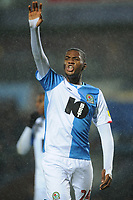 Blackburn Rovers' Tosin Adarabioyo<br /> <br /> Photographer Kevin Barnes/CameraSport<br /> <br /> The EFL Sky Bet Championship - Blackburn Rovers v Preston North End - Saturday 11th January 2020 - Ewood Park - Blackburn<br /> <br /> World Copyright © 2020 CameraSport. All rights reserved. 43 Linden Ave. Countesthorpe. Leicester. England. LE8 5PG - Tel: +44 (0) 116 277 4147 - admin@camerasport.com - www.camerasport.com