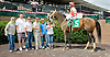My Freind Dr Joe winning at Delaware Park on 6/14/12