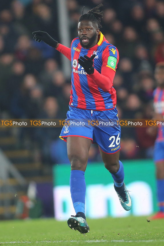 Bakary Sako of Crystal Palace during Crystal Palace vs AFC Bournemouth, Premier League Football at Selhurst Park on 9th December 2017