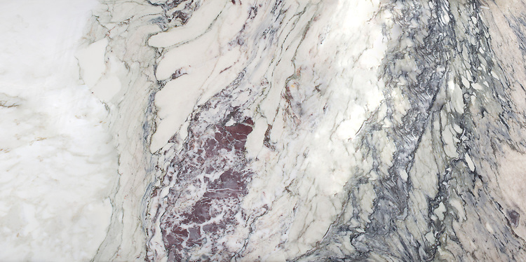 """Plumeria slab. Available in 2cm slab, 12"""" x 12"""" x 3/8"""", 12"""" x 24"""" x 3/8"""". Polished finish.<br /> Slab size varies. Please request price quote, dimensions, and lot photo prior to each order."""