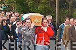 The funeral of John O Carroll in Ballyduff on Sunday..