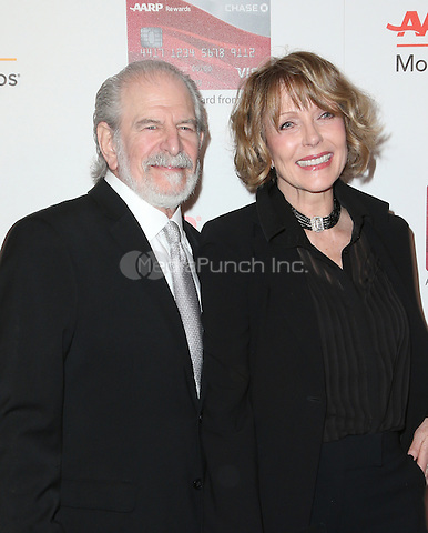 Beverly Hills, CA - FEBRUARY 06:  Steve Jaffe, Susan Blakely, At 16th Annual AARP The Magazine's Movies For Grownups Awards, At The Beverly Wilshire Four Seasons Hotel In California on February 06, 2017. Credit: Faye Sadou/MediaPunch