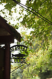 USA, Oregon, Wild and Scenic Rogue River in the Medford District, details of the Marial Lodge
