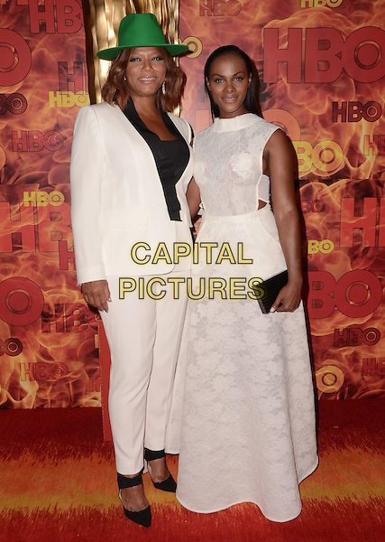 20 September  2015 - West Hollywood, California - Queen Latifah, Tika Sumpter. Arrivals for the 2015 HBO Emmy Party held at the Pacific Design Center. <br /> CAP/ADM/BT<br /> &copy;BT/ADM/Capital Pictures
