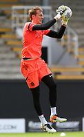 Blackburn Rovers' Christian Walton during the pre-match warm-up <br /> <br /> Photographer David Shipman/CameraSport<br /> <br /> The EFL Sky Bet Championship - Fulham v Blackburn Rovers - Saturday 10th August 2019 - Craven Cottage - London<br /> <br /> World Copyright © 2019 CameraSport. All rights reserved. 43 Linden Ave. Countesthorpe. Leicester. England. LE8 5PG - Tel: +44 (0) 116 277 4147 - admin@camerasport.com - www.camerasport.com