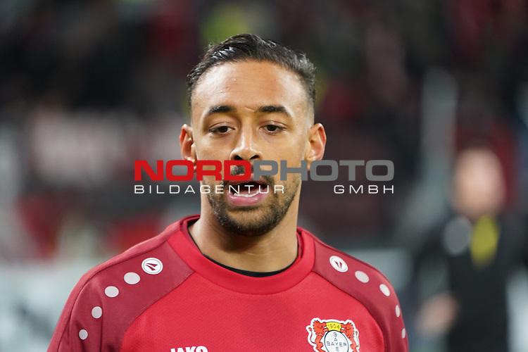 29.11.2018, BayArena, Leverkusen, Europaleque, Vorrunde, GER, UEFA EL, Bayer 04 Leverkusen (GER) vs. Ludogorez Rasgrad (BUL),<br />  <br /> DFL regulations prohibit any use of photographs as image sequences and/or quasi-video<br /> <br /> im Bild / picture shows: <br /> Karim Bellarabi (Leverkusen #38), <br /> <br /> Foto © nordphoto / Meuter<br /> <br /> <br /> <br /> Foto © nordphoto / Meuter