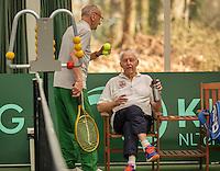 Hilversum, The Netherlands, March 12, 2016,  Tulip Tennis Center, NOVK, Terts Olff (NED) (R) and Arno de Visser<br /> Photo: Tennisimages/Henk Koster