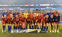 CHARLOTTE, NC - OCTOBER 03:  The United States team photo during their game versus Korea Republic at Bank of American Stadium, on October 03, 2019 in Charlotte, NC.