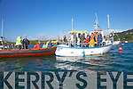 Anglers compete to support the Derrynane Inshore Rescue Service pictured here in Derrynane Harbor on Saturday.