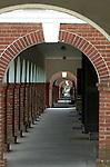 University of Virginia walk with pillars and arched doors UVA Thomas Jefferson University Charlottesville Virginia, Fine Art Photography by Ron Bennett, Fine Art, Fine Art photography, Art Photography, Copyright RonBennettPhotography.com ©