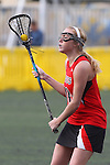 Santa Barbara, CA 02/18/12 - Emma Goodnow (Georgia #10) in action during the Georgia-Michigan matchup at the 2012 Santa Barbara Shootout.  Georgia defeated Michigan 12-10.