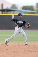 Bryan Brito - Seattle Mariners - 2010 Instructional League.Photo by:  Bill Mitchell/Four Seam Images..