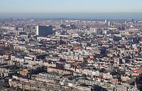 Nederland - Den Haag -  Februari 2019.  Den Haag. Op de achtergrond Scheveningen.   Foto Berlinda van Dam / Hollandse Hoogte
