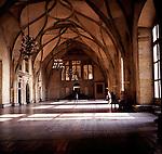 Vladislav hall, Royal palace, Prague, Czech republic