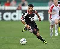Dwayne De Rosario (7) of D.C. United. Toronto FC tied D.C. United 1-1, at RFK Stadium, Saturday August 24 , 2013.