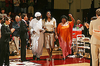 25 February 2006: Shelley Nweke during Stanford's 78-47 win over the Washington State Cougars at Maples Pavilion in Stanford, CA.