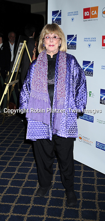 """Phyllis Newman ..posing for photographers at """"Defying Inequality"""" The Broadway Concert on February 23, 2009 at The Gershwin Theatre in New York City. The concert was a benefit for Equal Rights for gay people to be able to marry. ....Robin Platzer, Twin Images"""