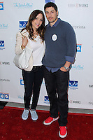 LOS ANGELES, CA, USA - APRIL 27: Jenny Mollen, Jason Biggs at the Milk + Bookies 5th Annual Story Time Celebration held at the Skirball Cultural Center on April 27, 2014 in Los Angeles, California, United States. (Photo by Xavier Collin/Celebrity Monitor)