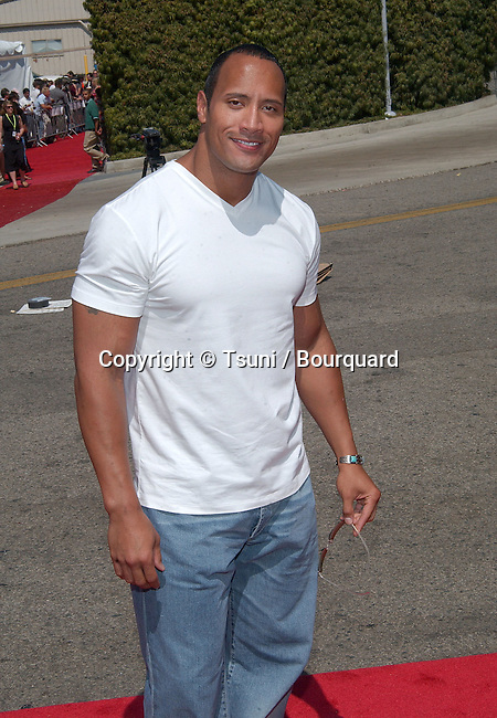 Dwayne Johnson - The Rock - arrives at the Teen Choice Awards 2002 held at the Universal Amphitheatre in Los Angeles, Ca., August 4, 2002.            -            JohnsonDwayne_TheRock01.jpg