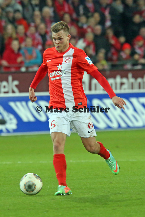 Benedikt Saller (Mainz) - 1. FSV Mainz 05 vs. Hannover 96, Coface Arena, 21. Spieltag
