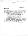 Hayward Correspondence 1926