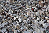 aerial photograph apartment buildings San Francisco, California