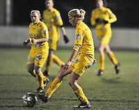 Club Brugge Dames - WB Sinaai Girls : Sofie Van Troyen.foto DAVID CATRY / Vrouwenteam.be