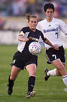 The New York Power defeated the Boston Breakers 3-2 on May 10, 2003 at Mitchel Athletic Complex, Uniondale, NY.