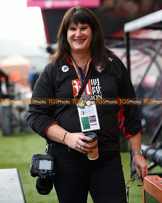 AFC Bournemouth Photographer  and LGBT spokeswoman Sophie Cooke during AFC Bournemouth vs West Ham United, Premier League Football at the Vitality Stadium on 11th March 2017