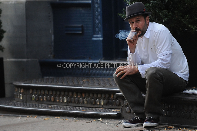 WWW.ACEPIXS.COM . . . . . ....October 26 2009, New York City....Actor David Arquette was seen enjoying a cigar in the West Village area of Manhattan on October 26 2009 in New York City......Please byline: KRISTIN CALLAHAN - ACEPIXS.COM.. . . . . . ..Ace Pictures, Inc:  ..tel: (212) 243 8787 or (646) 769 0430..e-mail: info@acepixs.com..web: http://www.acepixs.com