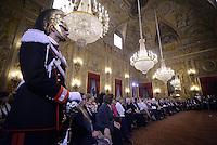 """Roma, 7 Marzo 2015<br /> Quirinale.<br /> Giornata internazionale dela donna, <br /> celebrazione dedicata al tema """"Donne per la Terra""""."""