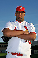 Mar 01, 2010; Jupiter, FL, USA; St. Louis Cardinals pitcher Oneli Perez (78) during  photoday at Roger Dean Stadium. Mandatory Credit: Tomasso De Rosa/ Four Seam Images