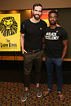 "Tim Hughes and Jelani Alladin attends the Broadway screening of the Motion Picture Release of ""The Lion King"" at AMC Empire 25 on July 15, 2019 in New York City."