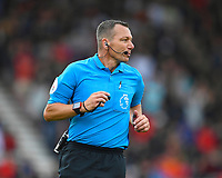Referee Kevin Friend during AFC Bournemouth vs Sheffield United, Premier League Football at the Vitality Stadium on 10th August 2019