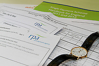 RLE 1 forms with RPA handbook and watch signifying time taken to complete