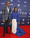 Cicely Tyson, B Michael 105 attends the American Film Institute's 47th Life Achievement Award Gala Tribute To Denzel Washington at Dolby Theatre on June 6, 2019 in Hollywood, California