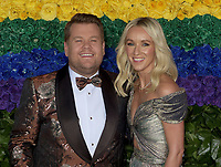 NEW YORK, NEW YORK - JUNE 09: James Corden and Julia Carey attends the 73rd Annual Tony Awards at Radio City Music Hall on June 09, 2019 in New York City. <br /> CAP/MPI/IS/CSH<br /> ©CSHIS/MPI/Capital Pictures