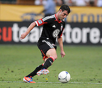 D.C. United forward Chris Pontius (13) D.C. United defeated Montreal Impact 3-0 at RFK Stadium, Saturday June 30, 2012.