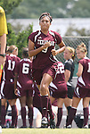 12 September 2009: Texas A&M's Becca Herrera. The University of North Carolina Tar Heels defeated the Texas A&M University Aggies 2-0 at Fetzer Field in Chapel Hill, North Carolina in an NCAA Division I Women's college soccer game.