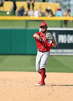 Blake Trahan - Cincinnati Reds 2020 spring training (Bill Mitchell)