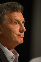 Presidential candidate for the coalition Cambiemos Mauricio Macri during a press conference in Buenos Aires city, Argentina, November 10, 2015. Macri lead the polls for November 22nd runoff, what would finish 12 years of  Nestor and Cristina Kirchner peronism  heading the government of Argentina.<br /> Macri is Mayor of Buenos Aires city