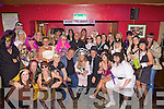 Lesley Loughnane Flannery from Listowel (pictured centre) celebrated her 30th birthday in fancy dress style at Christies Bar, Listowel on Saturday night.