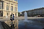 Estate in piazza Castello