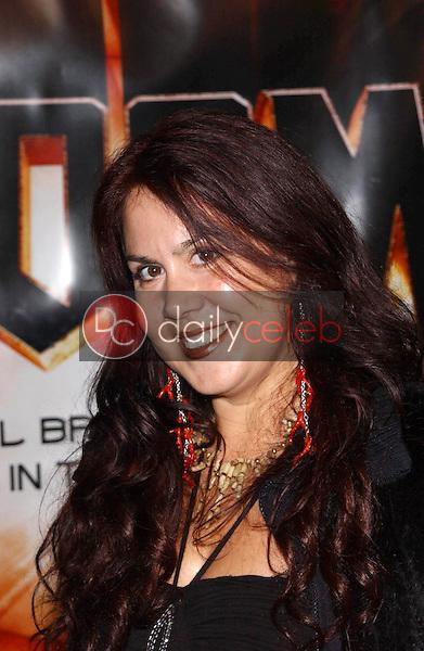 Fileena Bahris<br /> at the premiere of &quot;Doom&quot;, Universal City Cinemas, Universal City, CA 10-17-05<br /> David Edwards/DailyCeleb.Com 818-249-4998