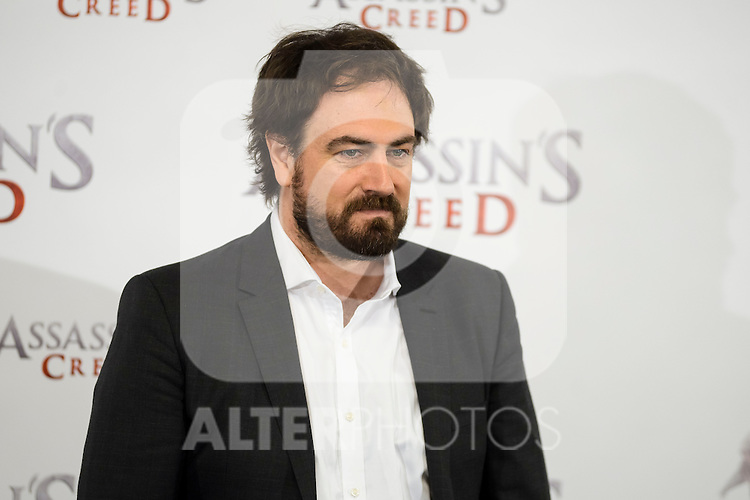 """The director of the film, Justin Kurzel during the presentation of the film """"Assassin's Creed"""" in Madrid, Spain. December 07, 2016. (ALTERPHOTOS/BorjaB.Hojas)"""