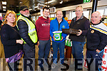 Gillian Wharton, Pat Keogh, Padraig Leen, Simon Moynihan, Jim O'Donnell and John Fitzgerald supporting  the Coffee morning in aid of Kerry Hospice at Foley's Spar in Tralee on Friday.