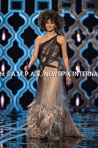26.02.2017; Hollywood, USA: HALLE BERRY<br /> at The 89th Annual Academy Awards at the Dolby&reg; Theatre in Hollywood.<br /> Mandatory Photo Credit: &copy;AMPAS/NEWSPIX INTERNATIONAL<br /> <br /> IMMEDIATE CONFIRMATION OF USAGE REQUIRED:<br /> Newspix International, 31 Chinnery Hill, Bishop's Stortford, ENGLAND CM23 3PS<br /> Tel:+441279 324672  ; Fax: +441279656877<br /> Mobile:  07775681153<br /> e-mail: info@newspixinternational.co.uk<br /> Usage Implies Acceptance of Our Terms &amp; Conditions<br /> Please refer to usage terms. All Fees Payable To Newspix International