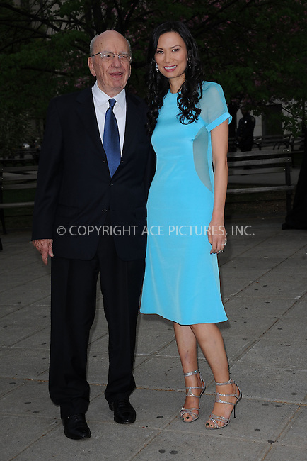 WWW.ACEPIXS.COM . . . . . .April 27, 2011...New York City... Rupert Murdoch and Wendi Deng attend the Vanity Fair party during the 10th annual Tribeca Film Festival at State Supreme Courthouse on April 27, 2011 in New York City....Please byline: KRISTIN CALLAHAN - ACEPIXS.COM.. . . . . . ..Ace Pictures, Inc: ..tel: (212) 243 8787 or (646) 769 0430..e-mail: info@acepixs.com..web: http://www.acepixs.com .