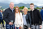 Eoin O'Connell, hayley Miller Alma and fergal O'Connell  at the Killarney races on Sunday